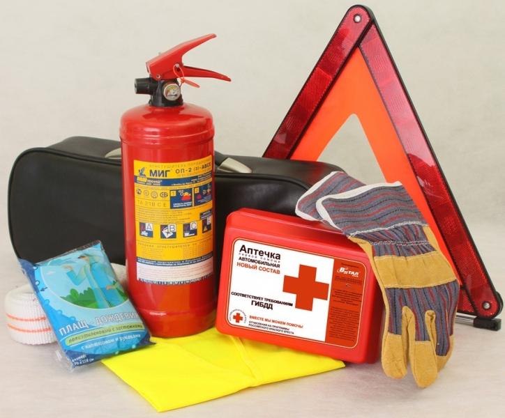 Могут ли гаи проверить наличие аптечки огнетушителя
