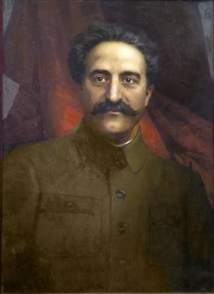 Г.К. Орджоникидзе портрет работы Эберлинга А. Р. С сайта https://polit-gramota.ru/
