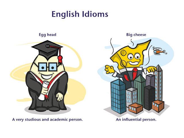 картинки с идиомами на английском очень