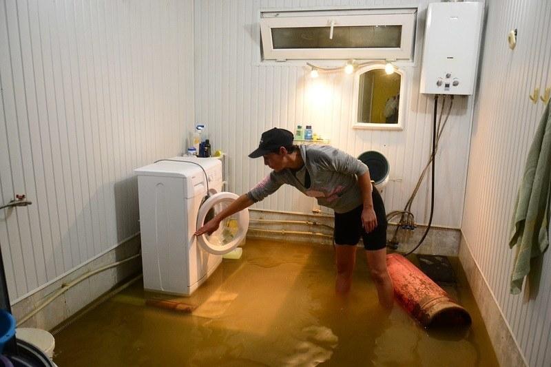 если затопили соседи сверху что делать как